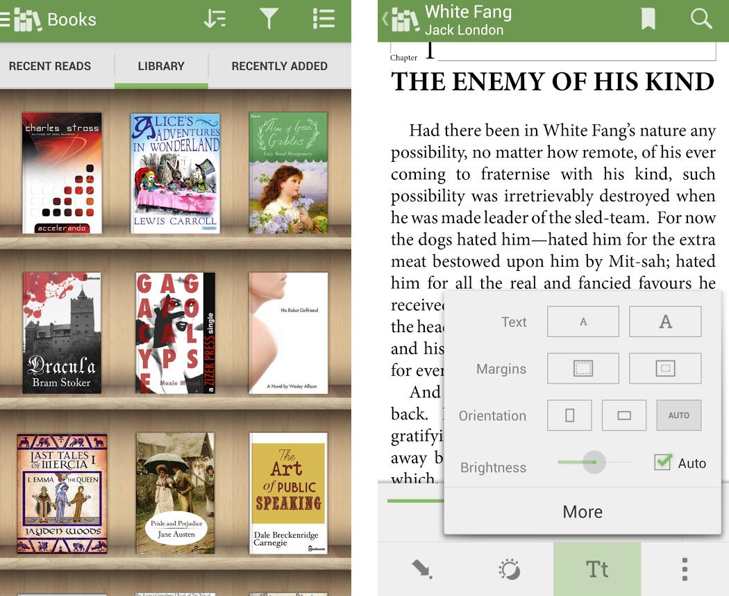 [Gambar: Aplikasi Aldiko | Google Play]