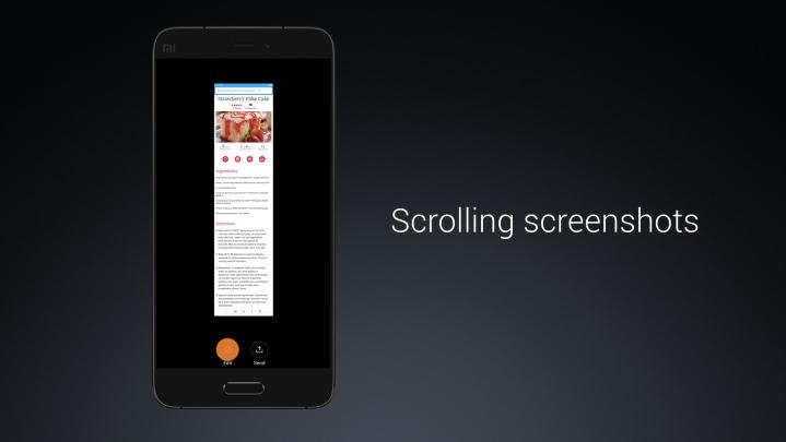 Как сделать длинный скриншот на xiaomi