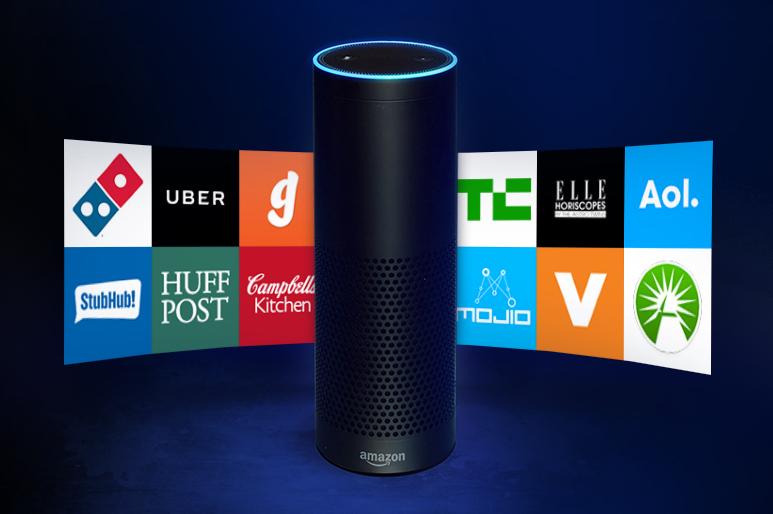 [Gambar: Amazon Echo | Amazon.com]